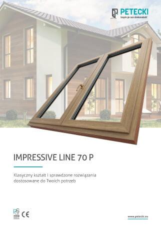 Ulotka Impressive Line 70 p przód